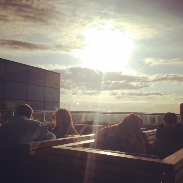 rooftop bubbles