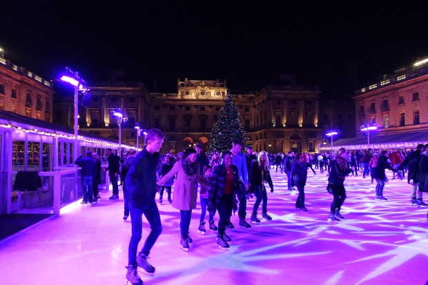 Rink at Somerset House