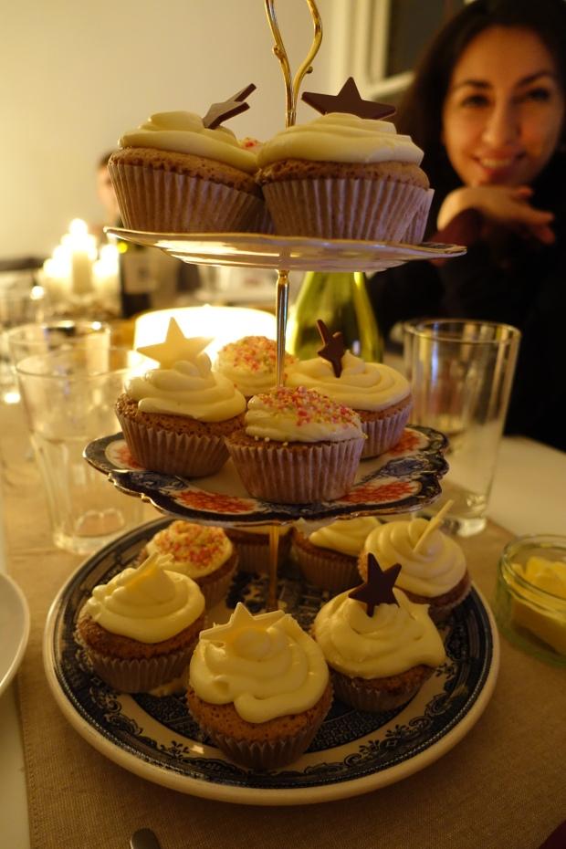 GF Carrot Cake Cupcakes